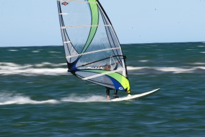 Getting Planing with windsurfing lessons