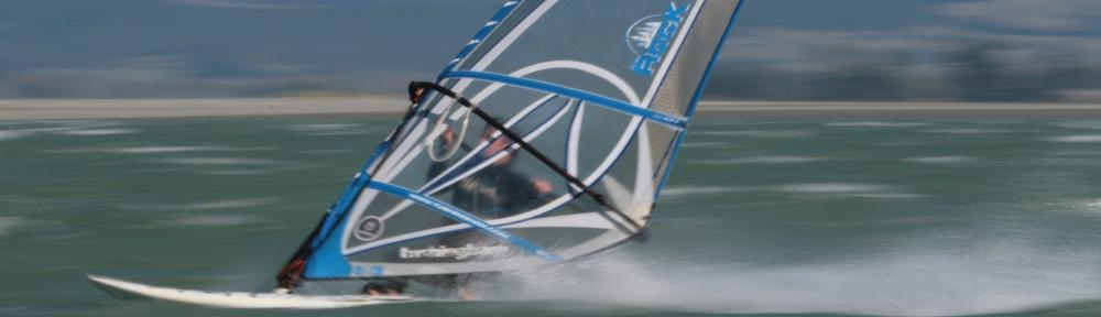Windsurfing at high speed!